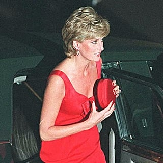 Princess Diana Wearing a Clutch