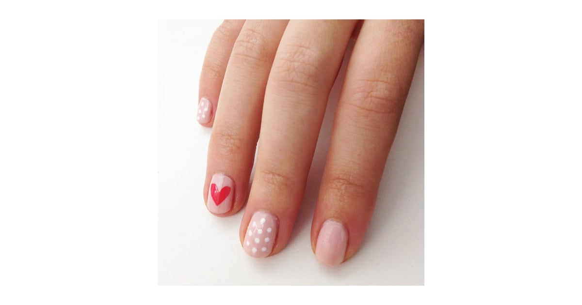 We Heart Nail Art Which Is Why We Love This Supereasy Way To Create