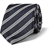 We love Jenny's girl-meets-boy take on school dressing. Add a striped tie for a dose of gender-bending cool. Canali Striped Wool and Silk-Blend Tie ($155)