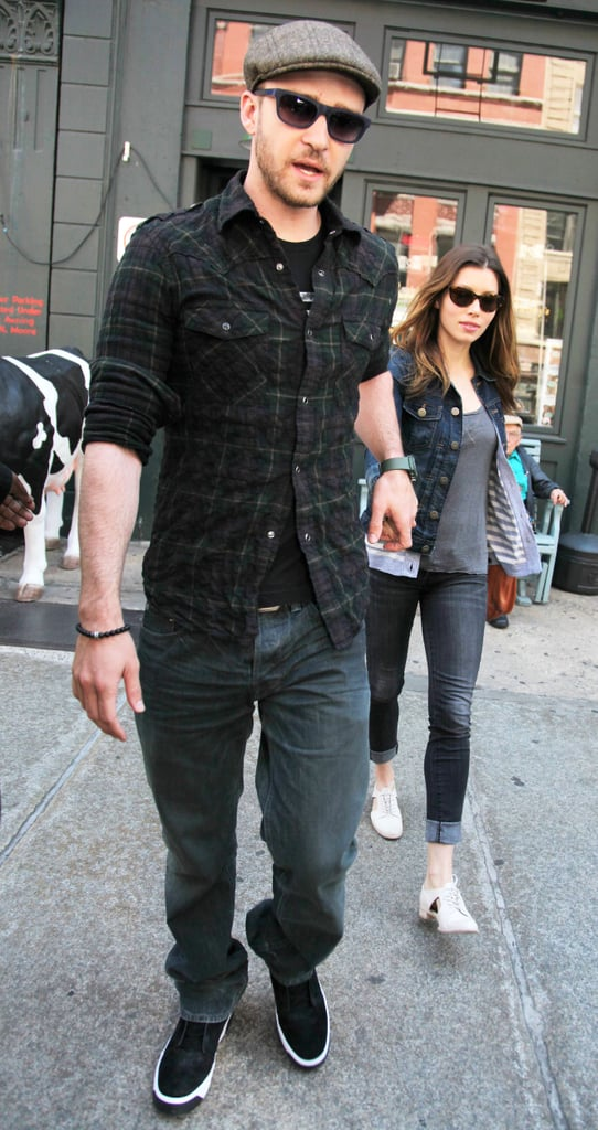 Pictures of Justin Timberlake and Jessica Biel Out in NYC Together