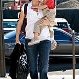 Violet Gets a Lift From Mama Jennifer