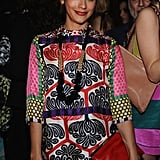Rashida Jones hung out at the Marni for H&M launch.