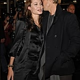 Brad Pitt shared a secret with Angelina Jolie at the January 2007 LA premiere of God Grew Tired of Us.