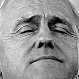 June 21: Malcolm Turnbull takes a break from campaigning in Darwin, 11 days ahead of the Federal Election on July 2.
