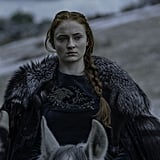 "Turner on Sansa's hand in Ramsay Bolton's death: ""[Sansa's involvement] made it a really great storyline. Killing him with the dogs, that was the most satisfying scene. It made me so emotional because I've been waiting so long for her to stand up to the people who have done her wrong."" On the ending of Game of Thrones: ""I feel very satisfied with the ending of the entire show. Every story arc came to a really good close."""