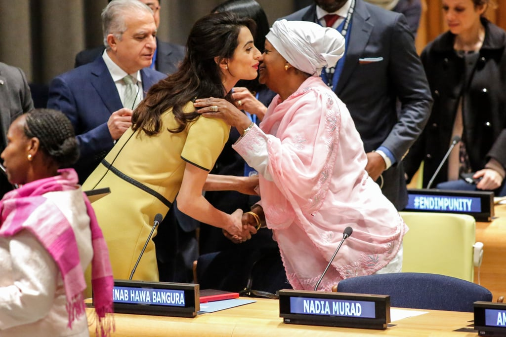 Amal Clooney at United Nations in NYC March 2017
