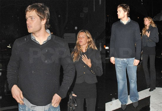 Tom and Gisele Start the Pre-Playoffs Party