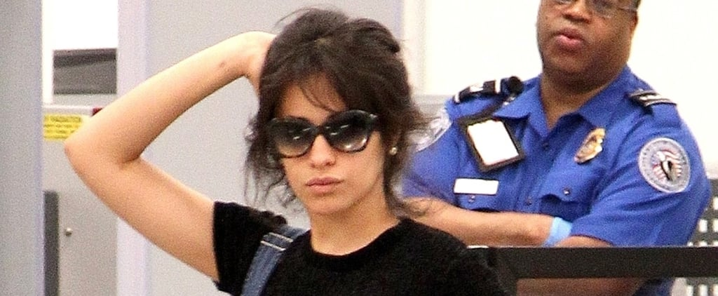 "Camila Cabello Turns Airport Security Into a Photo Shoot, Because ""When Life Throws You Lemons"""