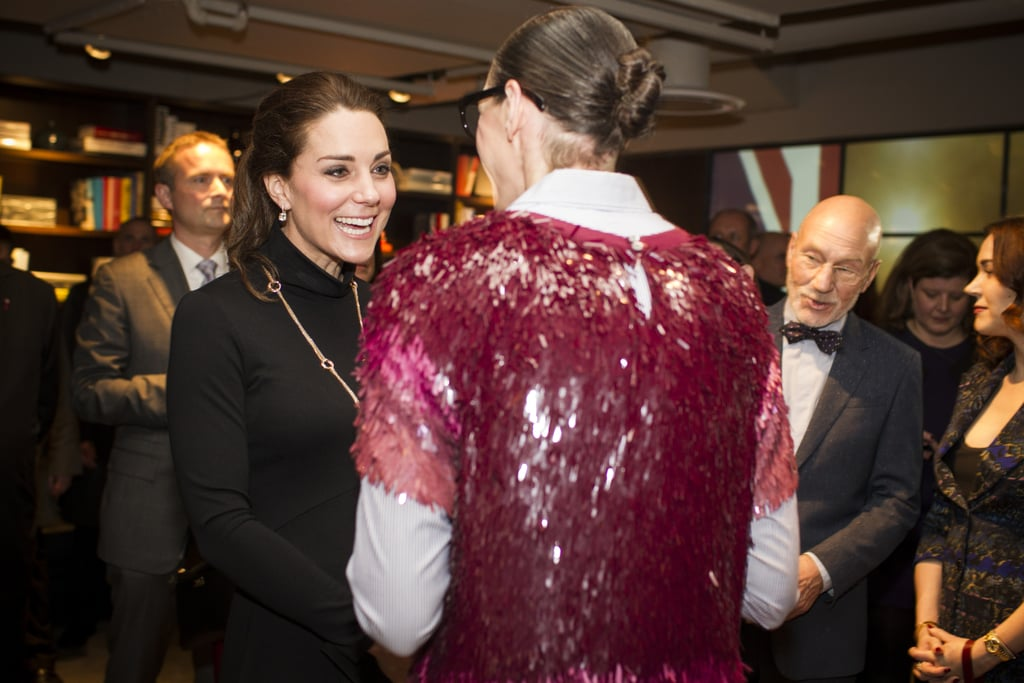 Jenna Lyons Wore Sequins to Meet Kate Middleton