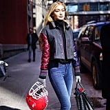 And Her Postshow Street Style Was a Total Touchdown