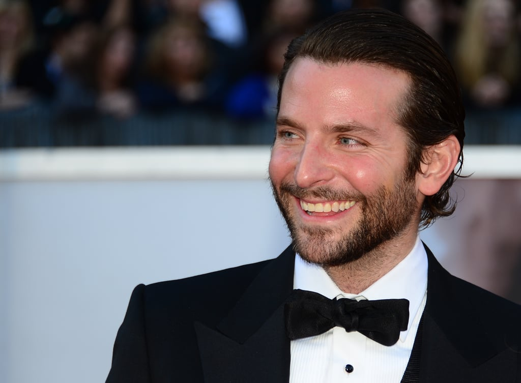 Bradley Cooper at the 2013 Oscars.
