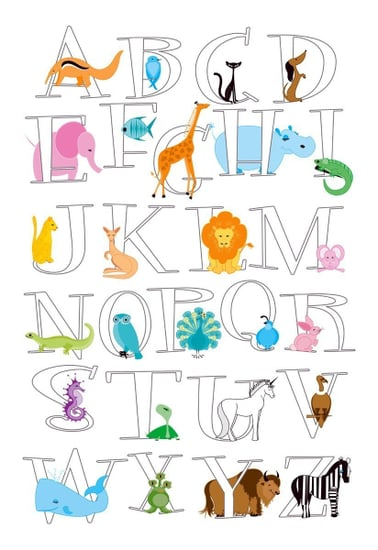 Pimp Your Crib:  Alphabet Posters for Every Taste