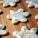 Vegan Snow Holiday Cookies