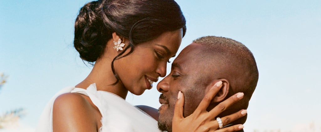 Sabrina Dhowre's Vera Wang Wedding Dress With Idris Elba