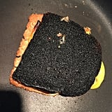 When you try to make your kiddo a quick grilled cheese . . .