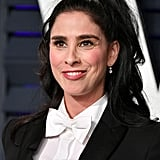 Sarah Silverman at the 2019 Vanity Fair Oscar Party