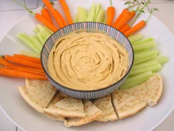Snack Attack:  Make Your Own Hummus