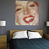 Paint Chip Pixelated Paintings
