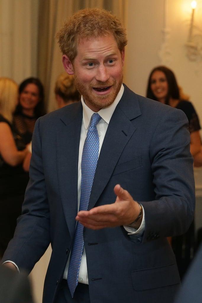 Prince Harry at WellChild Awards October 2016