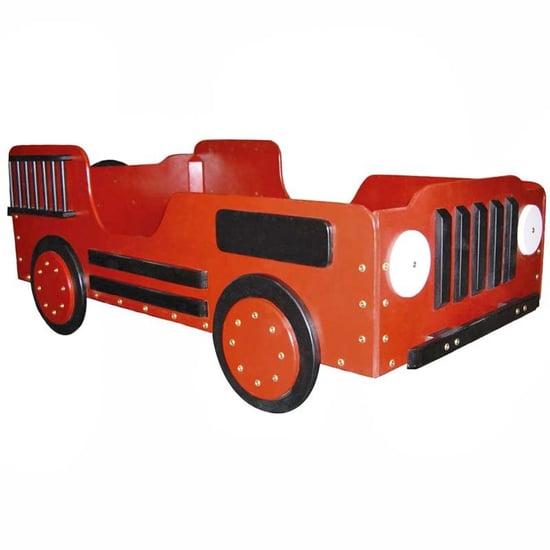 Fire Truck Toddler Bed ($260)