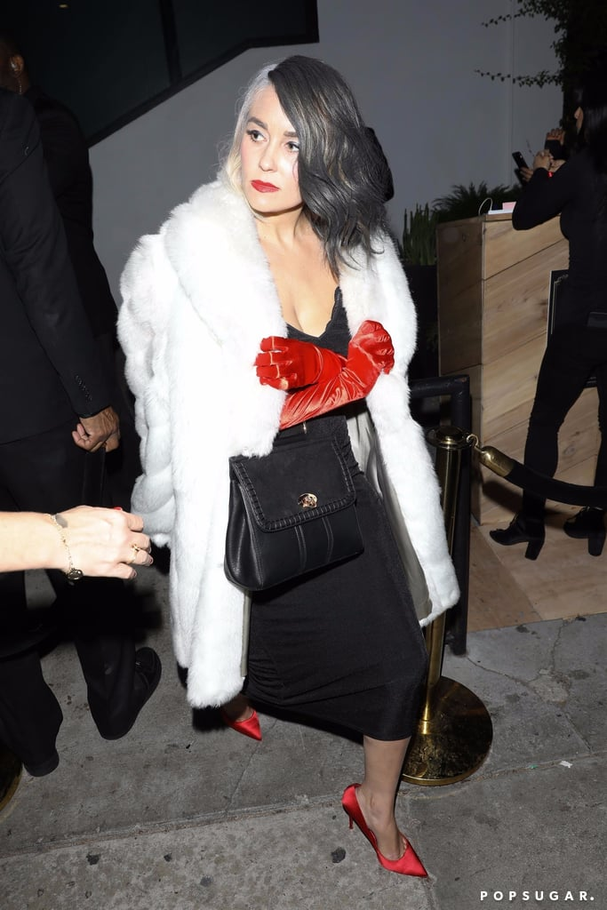 Lauren Conrad Cruella De Vil Halloween Costume Shoes Popsugar Fashion