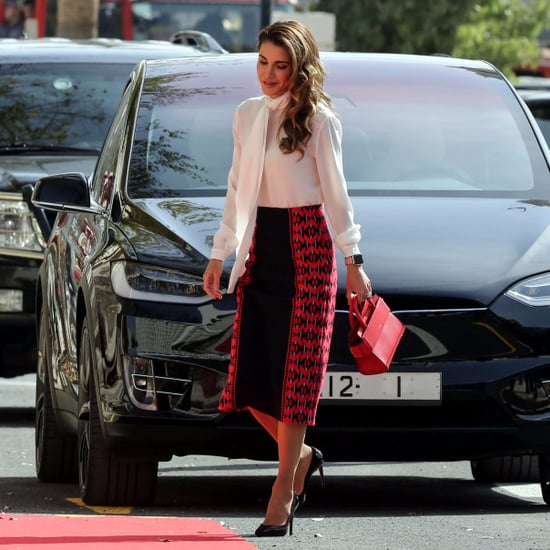 Queen Rania's Red Givenchy Bag