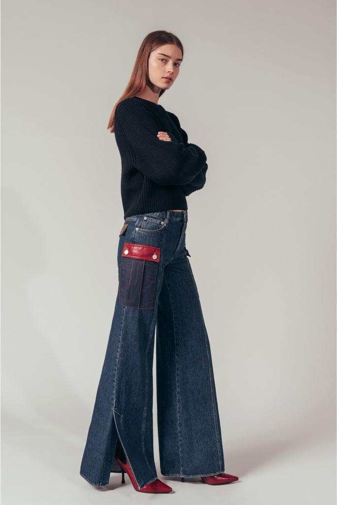 Sonia Rykiel Wide Denim Trousers