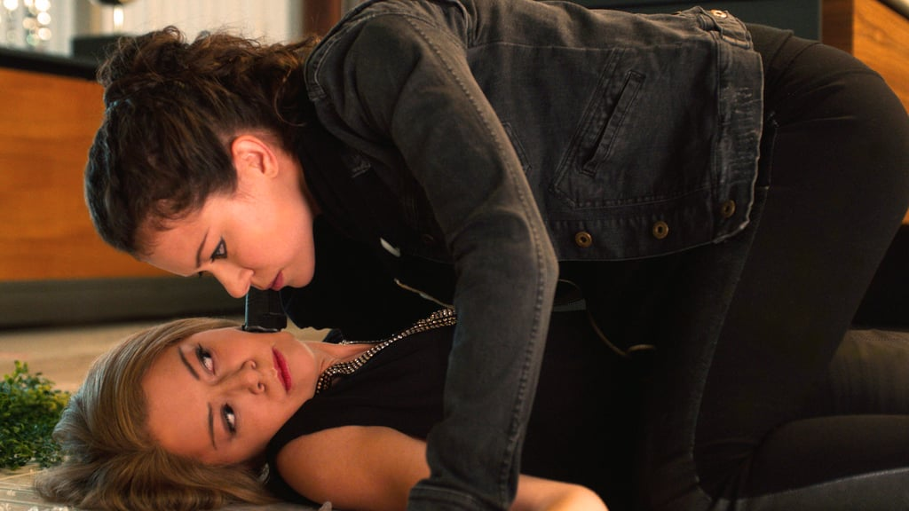Tatiana Maslany as Rachel and Sarah. Source: BBC