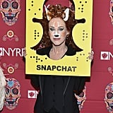 Kathy Griffin as the Snapchat Deer Filter