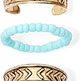 Arizona 3-Piece Gold-Tone Elephant Toe Ring Set ($10)