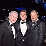 Victor Garber and his partner, Rainer Andreesen, posed with Bradley Cooper.
