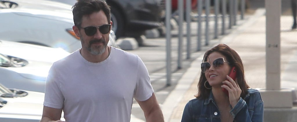 Jenna Dewan and Steve Kazee Holding Hands in California
