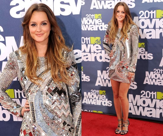Leighton Meester at 2011 MTV Movie Awards 2011-06-05 18:40:32