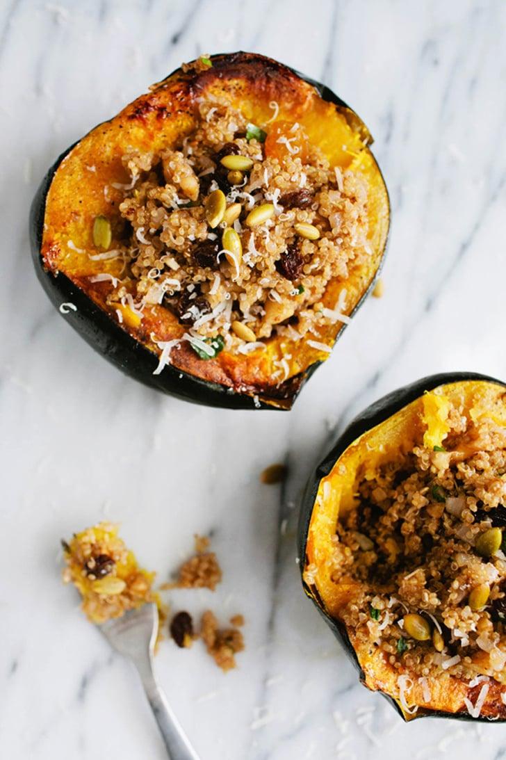 Quinoa Stuffed Acorn Squash Vegetarian Main Dishes For
