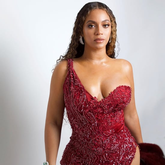 Beyoncé Wears Red Dress July 2019