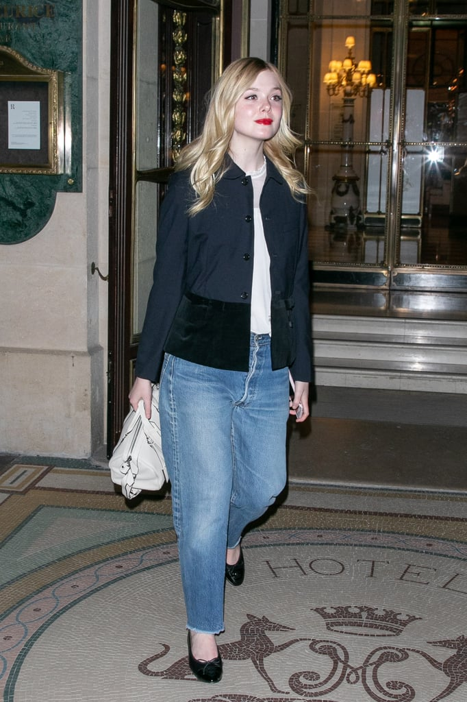 How to Wear Jeans: Elle Fanning