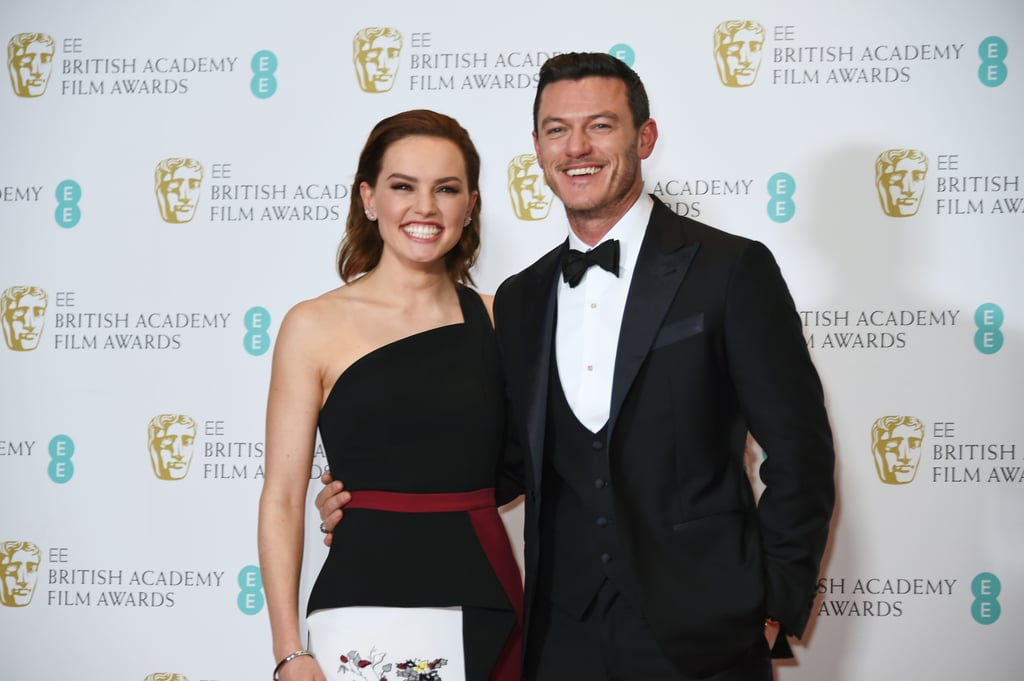 Daisy Ridley and Luke Evans