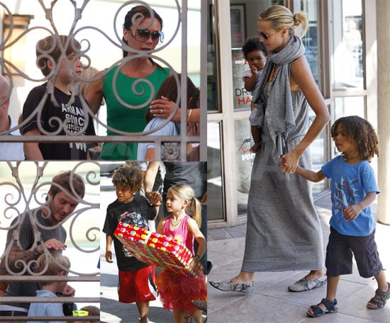 Pictures of Romeo Beckham's Birthday Party
