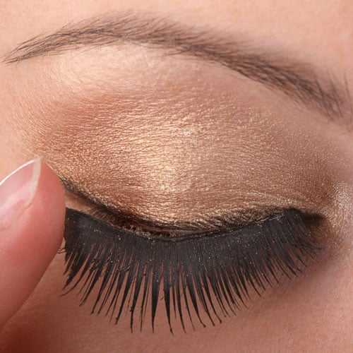 26896be897f How to Apply Fake Eyelashes for Party Season Makeup | POPSUGAR Beauty  Australia