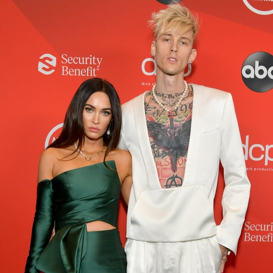 Megan Fox and Machine Gun Kelly's Matching Nail Art at AMAs