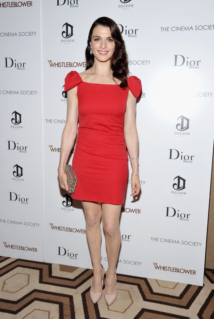 Rachel Weisz premieres The Whistleblower in NYC.