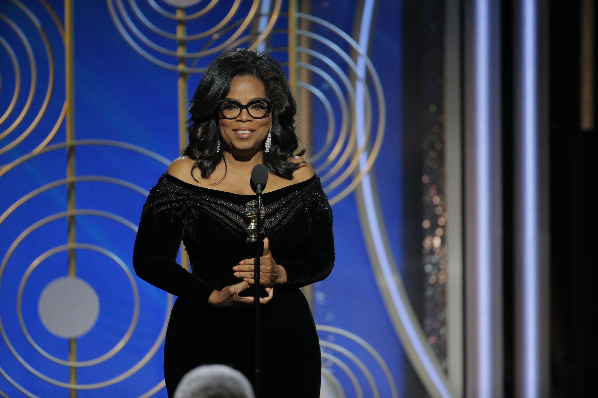 Oprah's Golden Globes speech sparks presidential run rumours, Trump reacts
