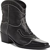 Ganni Low Texas Bootie