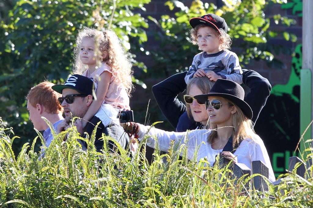 Nicole Richie and Joel Madden Spend a Family Day at Taronga Zoo