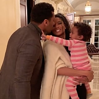 Russell Wilson, Ciara's Daughter Not Letting Them Kiss Video