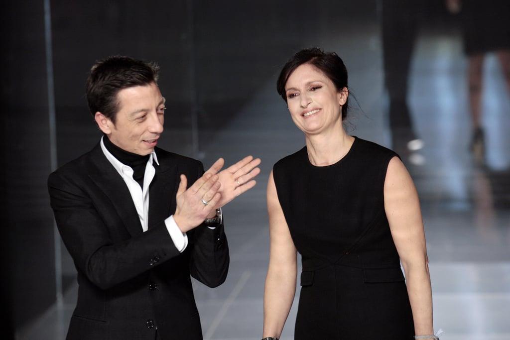 Pier Paolo Piccioli and Maria Grazia Chiuri