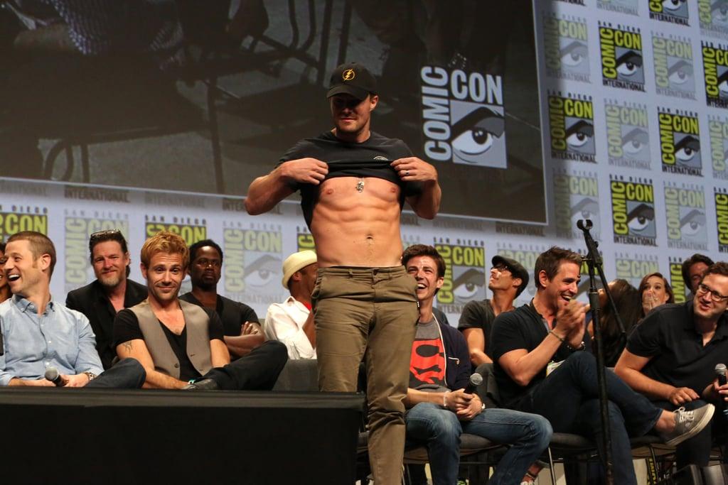 Stephen Amell's Comic-Con Surprise