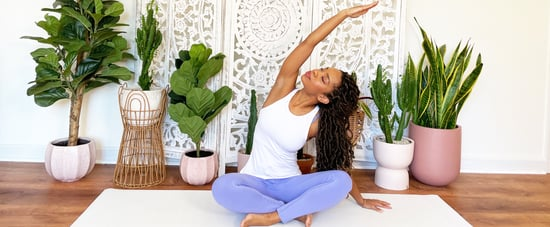 15-Minute Stress-Relief Yoga Session With Phyllicia Bonanno