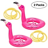Flamingo Inflatable Ring Toss Game