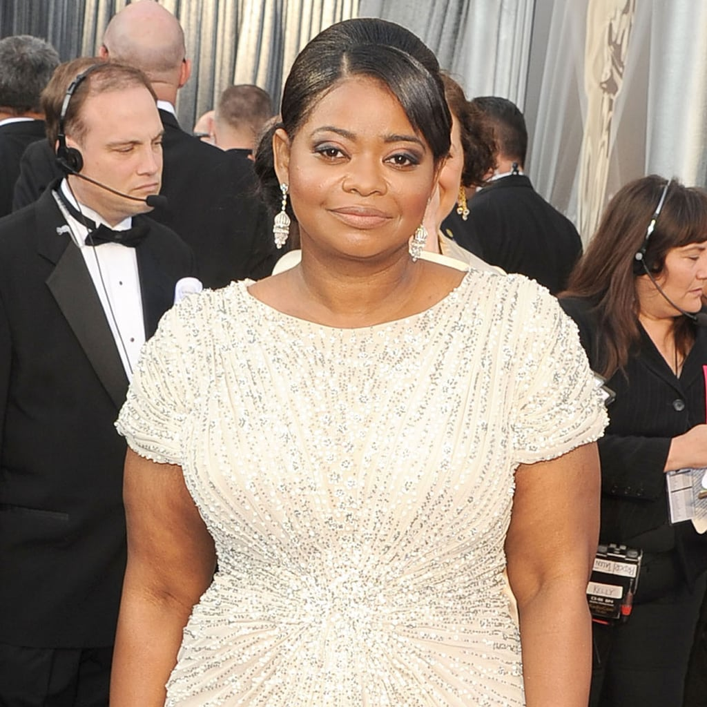 Best Supporting Actress Nominee Octavia Spencer on the Oscars Red Carpet